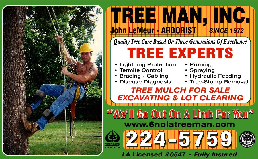 AAA Tree Man Inc