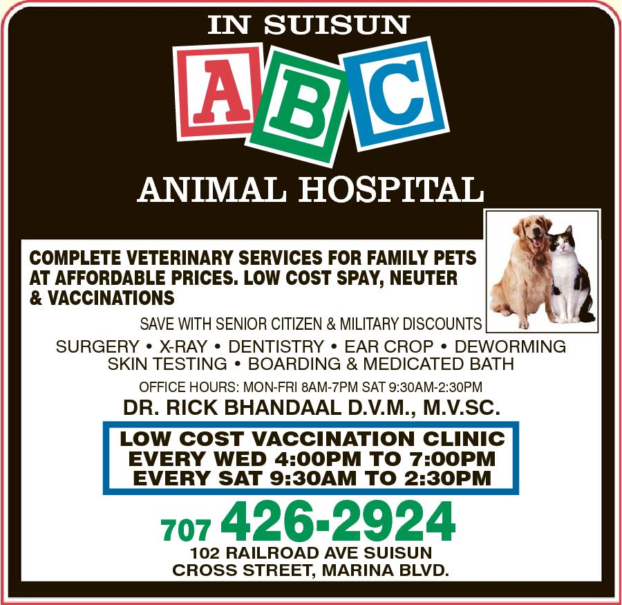 A B C Animal Hospital