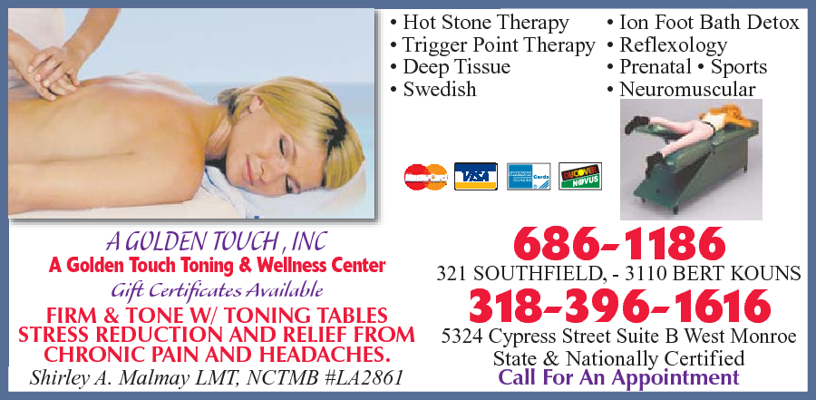 Golden Touch Therapeutic Massage & Bodywork