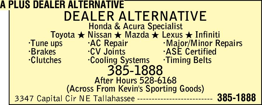 A Plus Dealer Alternative
