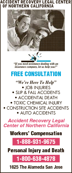 Accident Recovery Legal Center Of Northern California