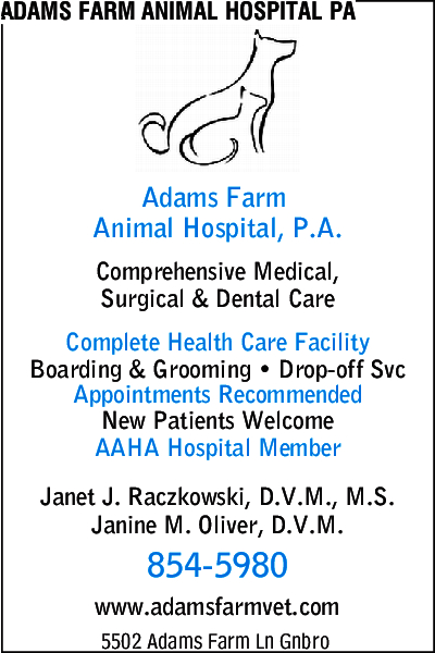 Adams Farm Animal Hospital PA