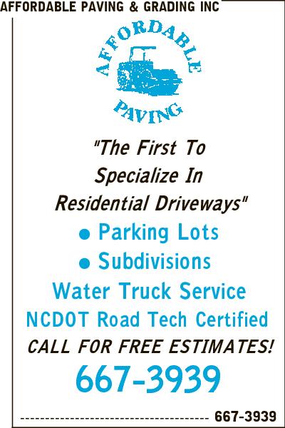 Affordable Paving & Grading Inc