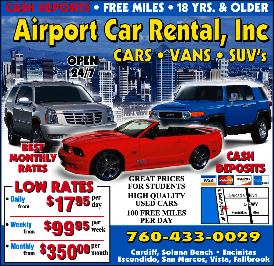 Airport Car Rental Inc.