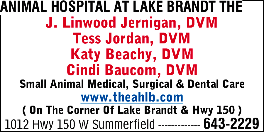 Animal Hospital At Lake Brandt The
