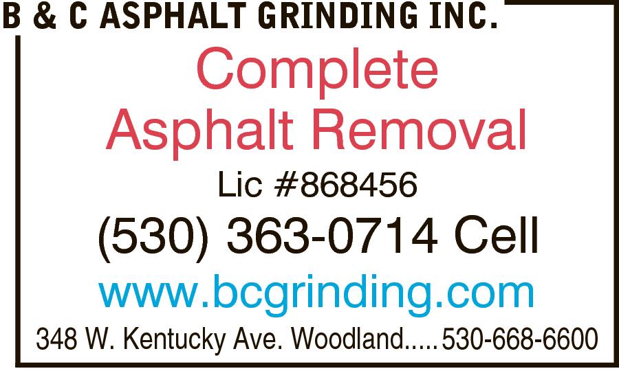 B & C Asphalt Grinding Inc.