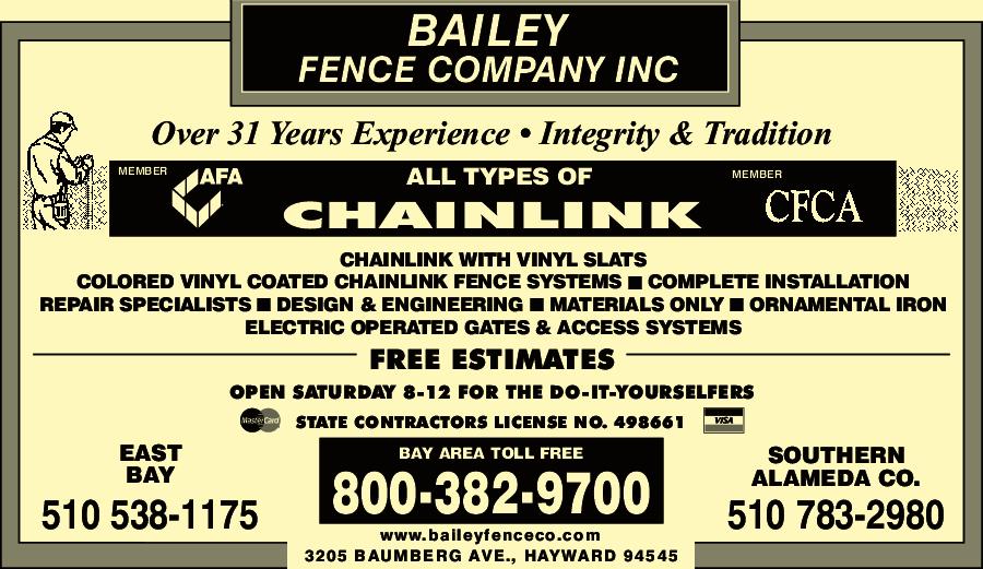 Bailey Fence