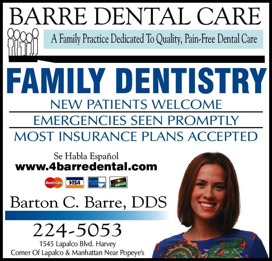 Barre Dental Care