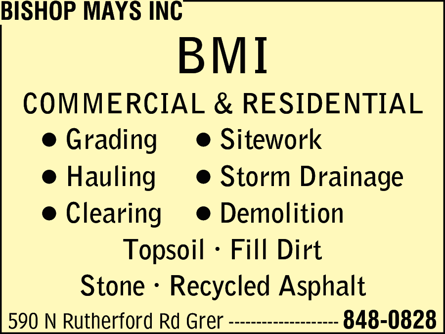 Bishop Mays inc
