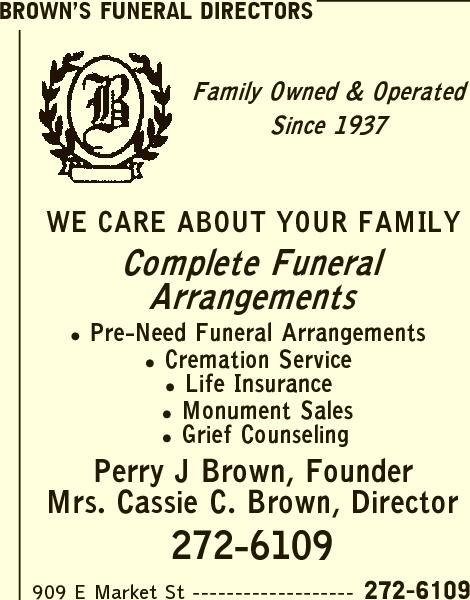 Brown's Funeral Directors