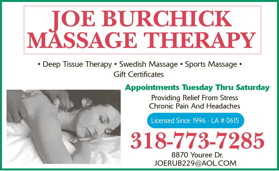 Burchick, Joe Massage Therapy