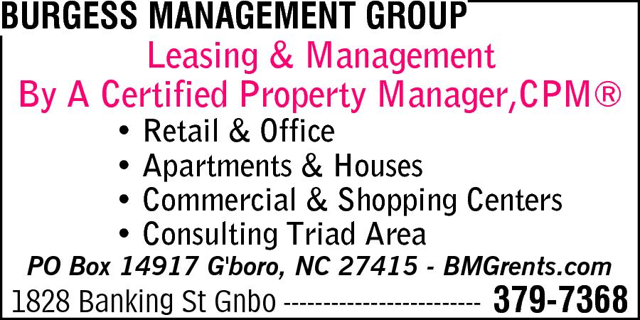 Burgess Management Group