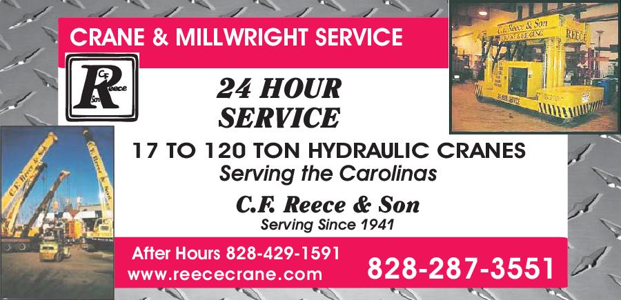 C F Reece & Son Supply Co Inc