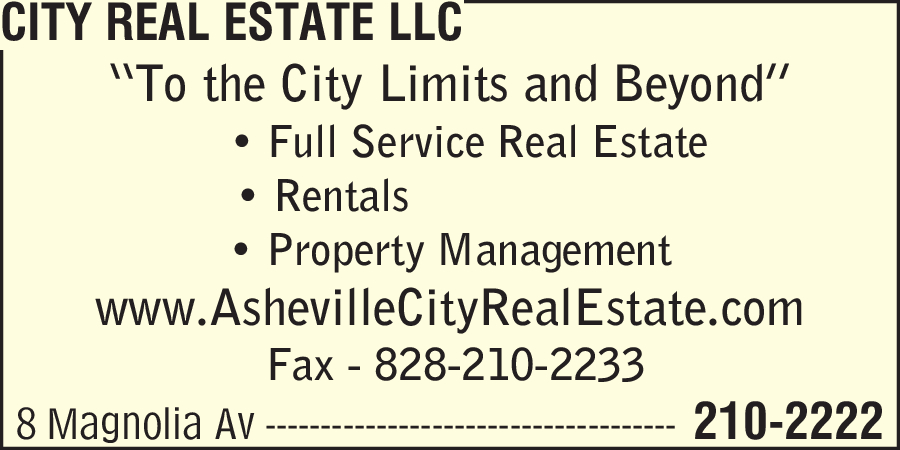 City Real Estate LLC