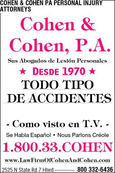 Cohen & Cohen PA Personal Injury Attorneys