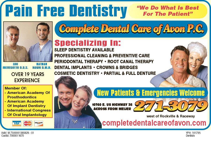 Complete Dental Care Of Avon PC