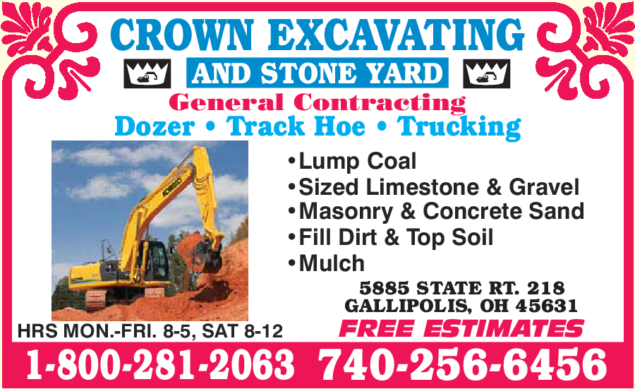 Crown Excavating & Stone Yard