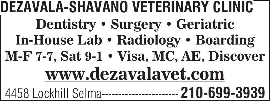 DeZavala-Shavano Veterinary Clinic