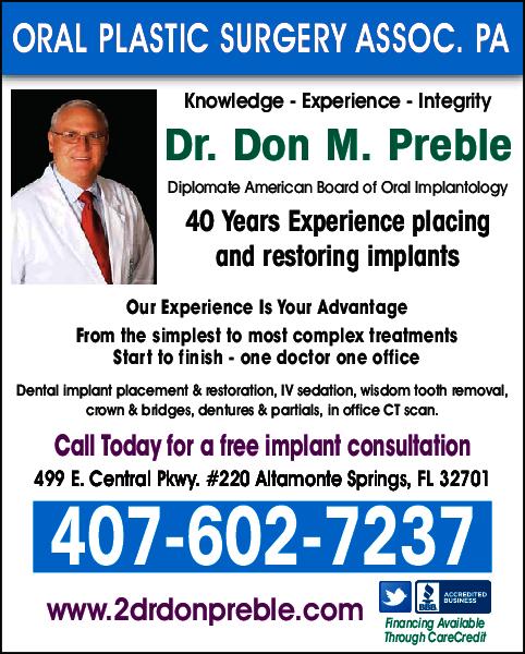 Dr. Don M. Preble DMD