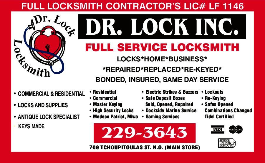 Dr Lock Locksmith inc