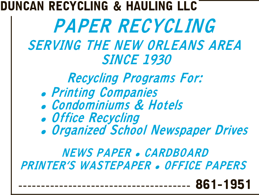 Duncan Recycling & Hauling LLC