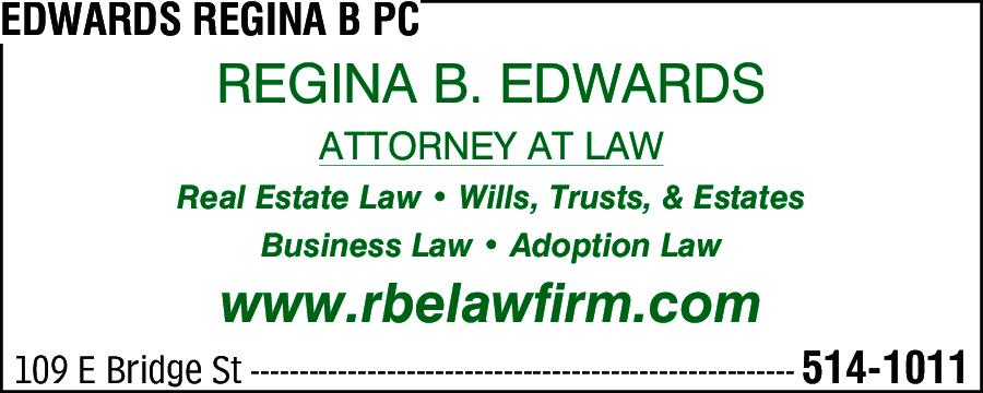 Edwards, Regina B