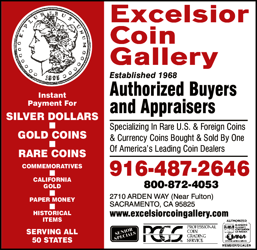 Excelsior Coin Gallery