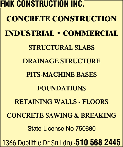 FMK Construction Inc.