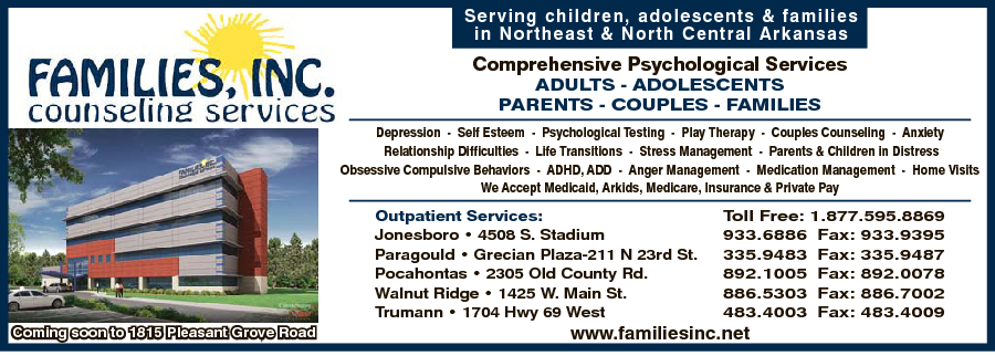 Families Inc Counseling Services