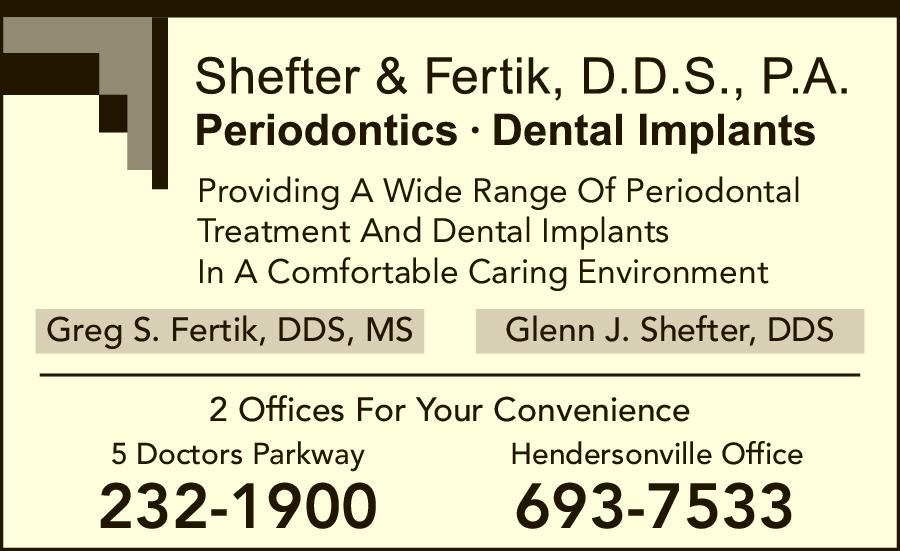 Shefter & Fertik DDS PA