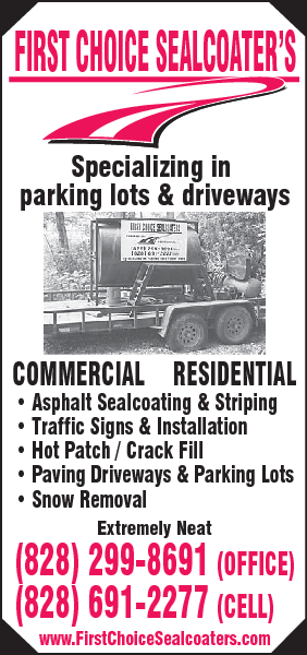 First Choice Sealcoater's & Paving Co
