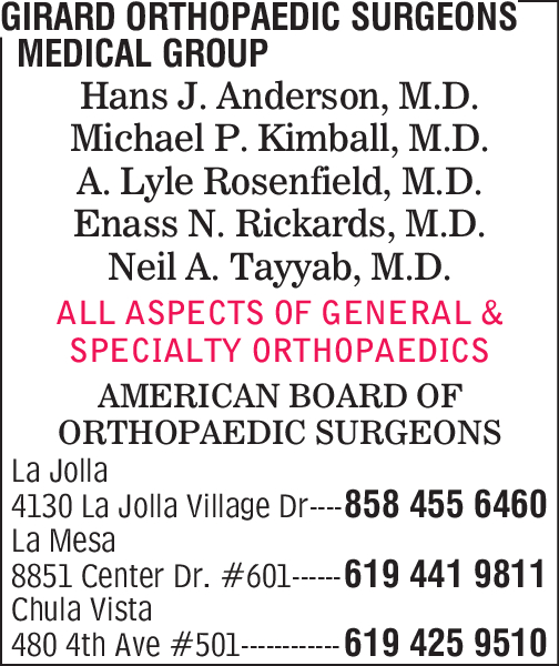 Girard Orthopaedic Surgeons Medical Group