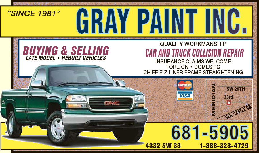 Gray Paint Inc