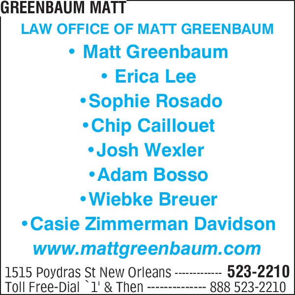 Greenbaum, Matt
