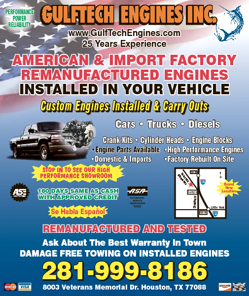 Gulftech Engines & Transmissions