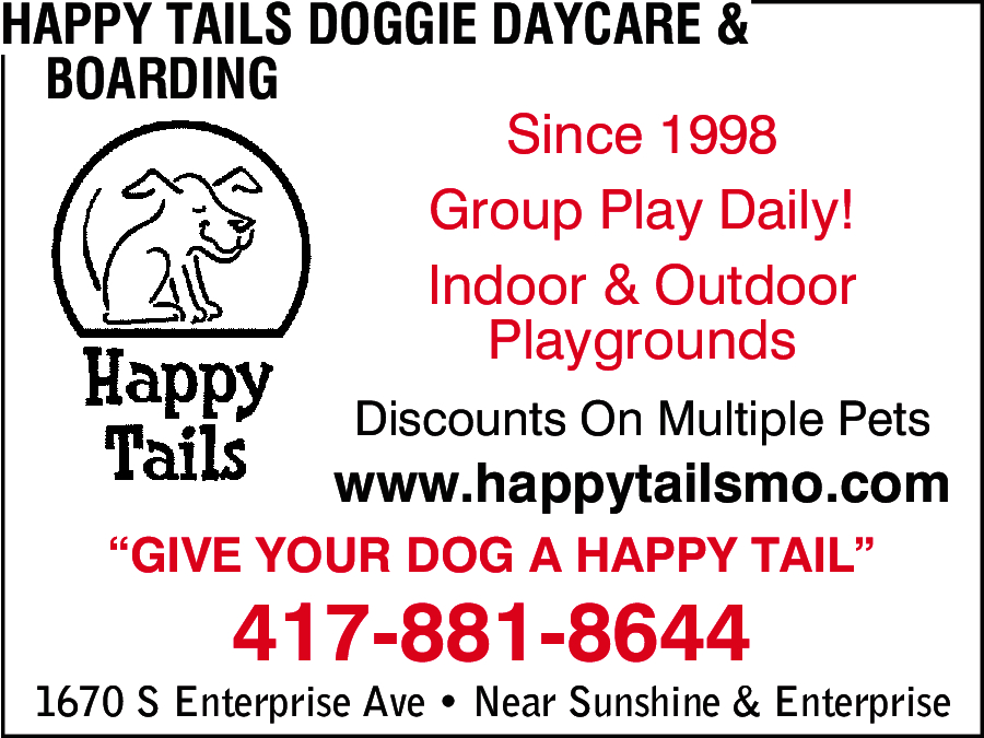 Happy Tails Doggie Daycare, Boarding & Grooming