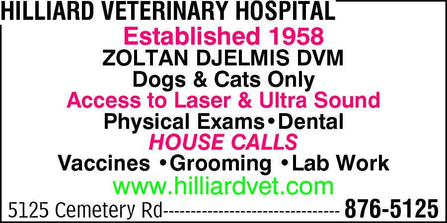 Hilliard Veterinary Hospital