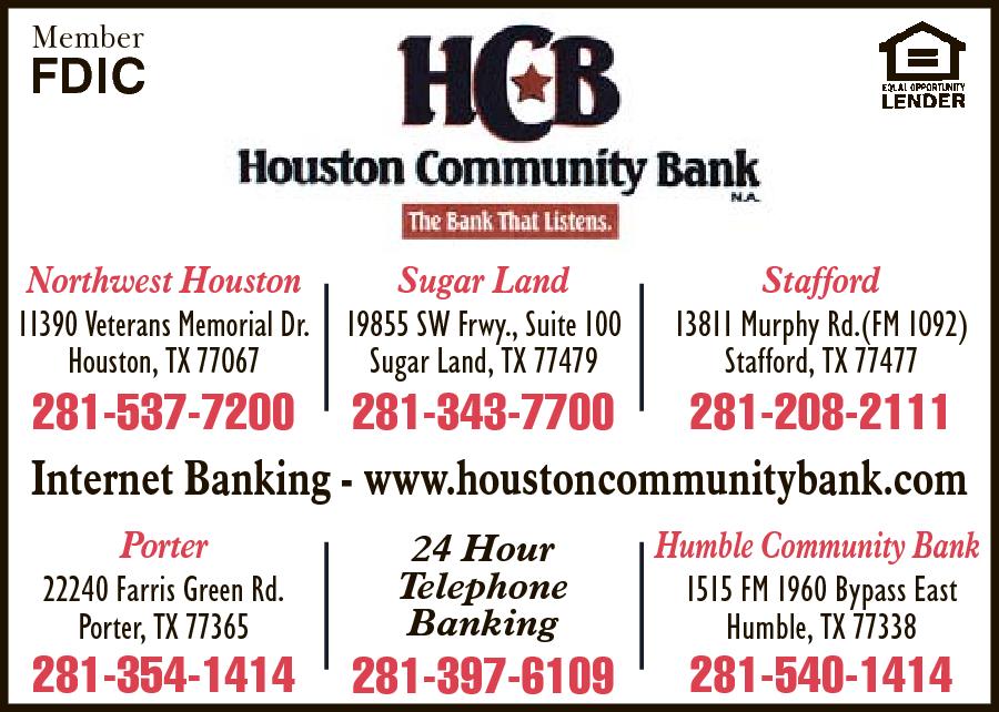 Houston Community Bank NA