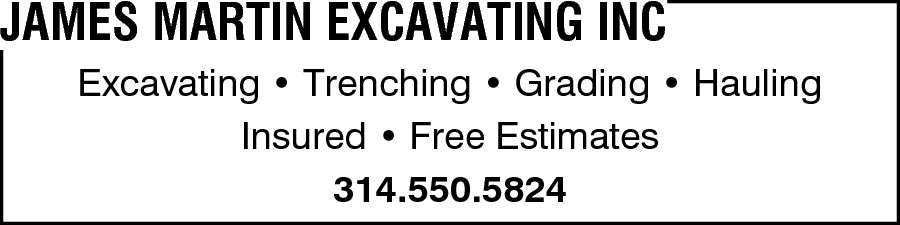 James Martin Excavating Inc