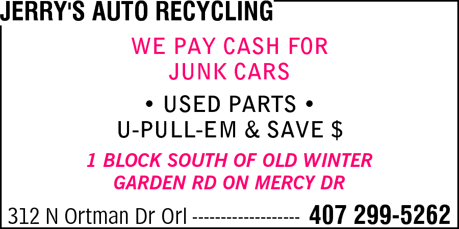 Jerry's Auto Recycling