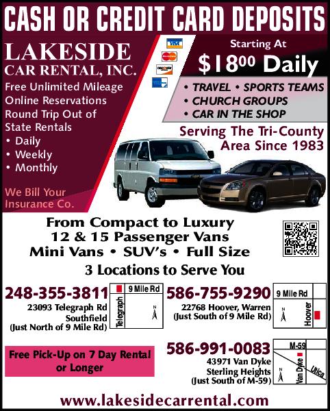 Lakeside Car Rental