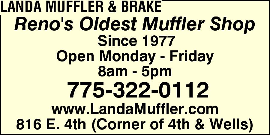 Landa Muffler & Brake