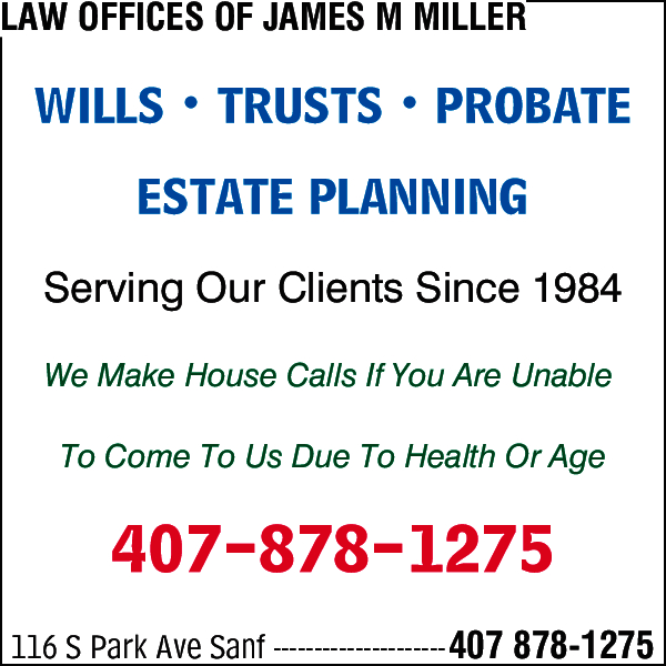 Law Offices of James M Miller
