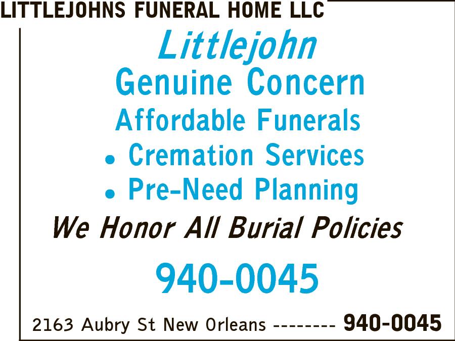 Littlejohn Funeral Home LLC