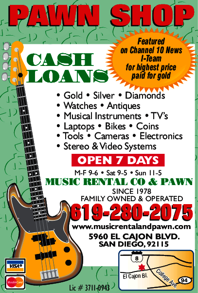 Music Rental Co. & Pawn