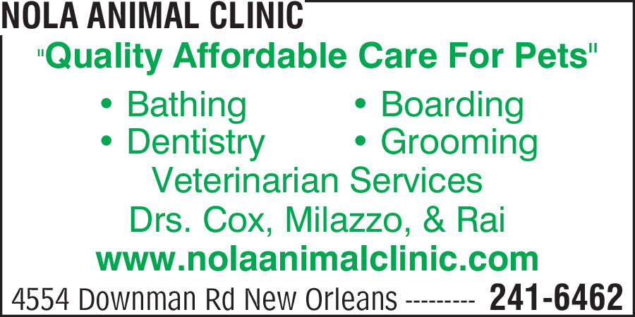 NOLA Animal Clinic
