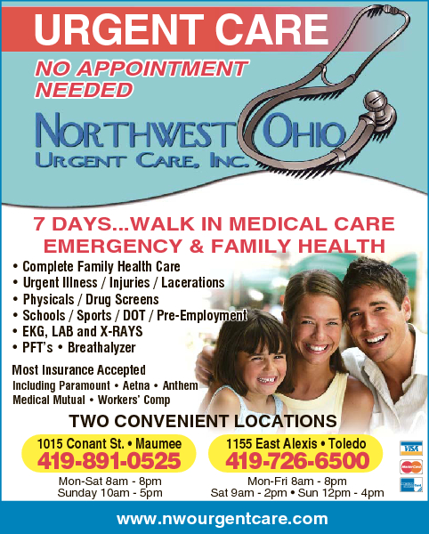 Northwest Ohio Urgent Care LLC Network