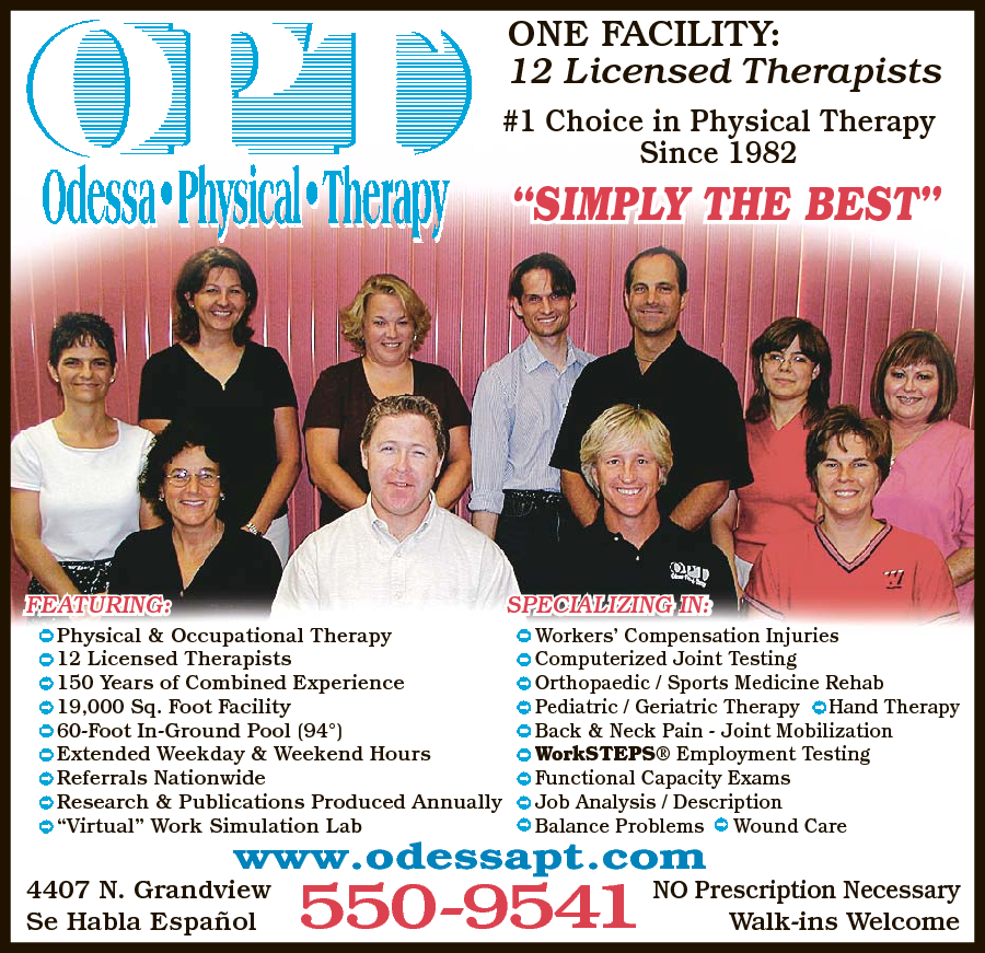 Odessa Physical Therapy