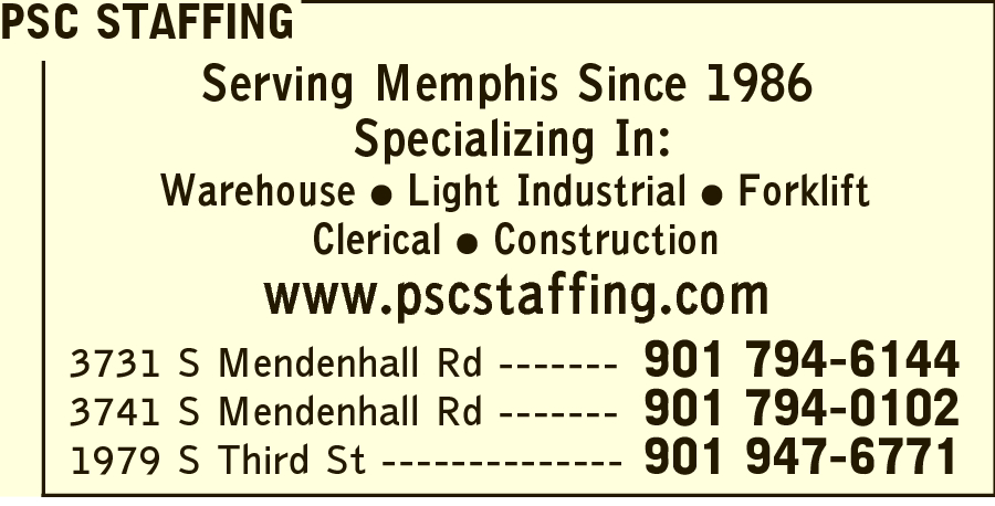 PSC Staffing