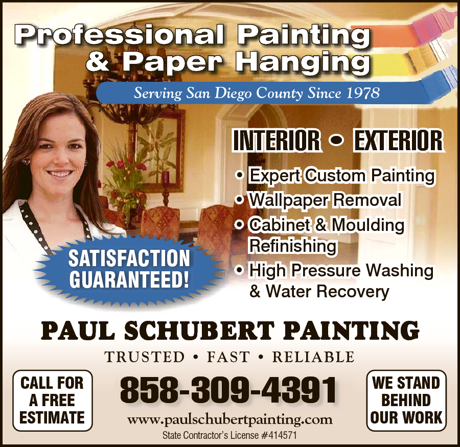 Paul Schubert Painting Inc